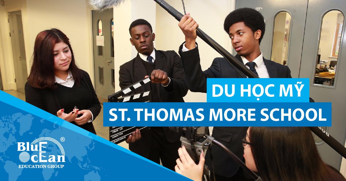 DU HỌC MỸ: TRƯỜNG ST. THOMAS MORE SCHOOL, CONNECTICUT