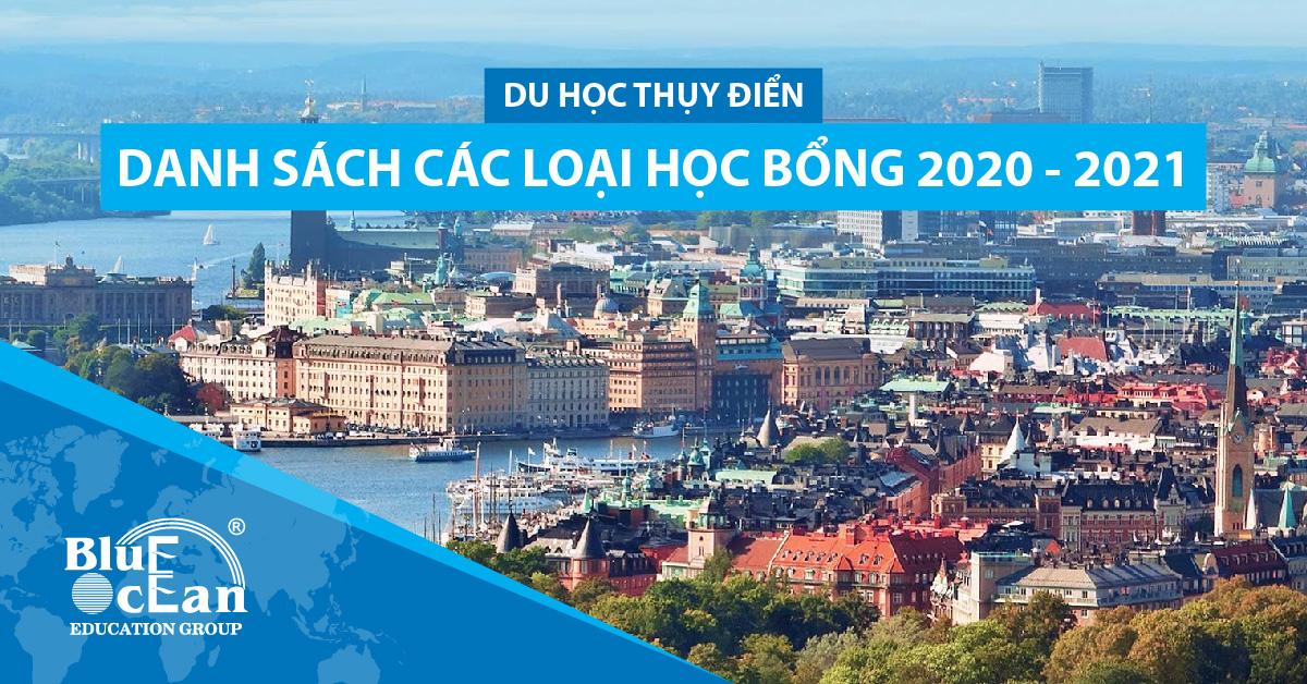 DU HỌC THỤY ĐIỂN: DANH SÁCH CÁC LOẠI HỌC BỔNG 2020 – 2021