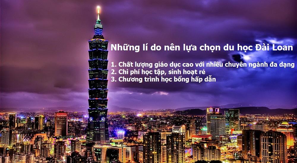 3 lý do bạn nên chọn Đài Loan là điểm đến du học