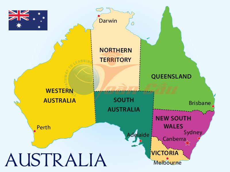 Du học Úc - 6 thành phố hấp dẫn nhất với du học sinh