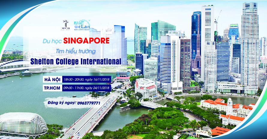 Du học Singapore: Tìm hiểu trường Shelton College International