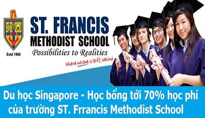Học bổng tới 70% học phí với ST Francis Methodist