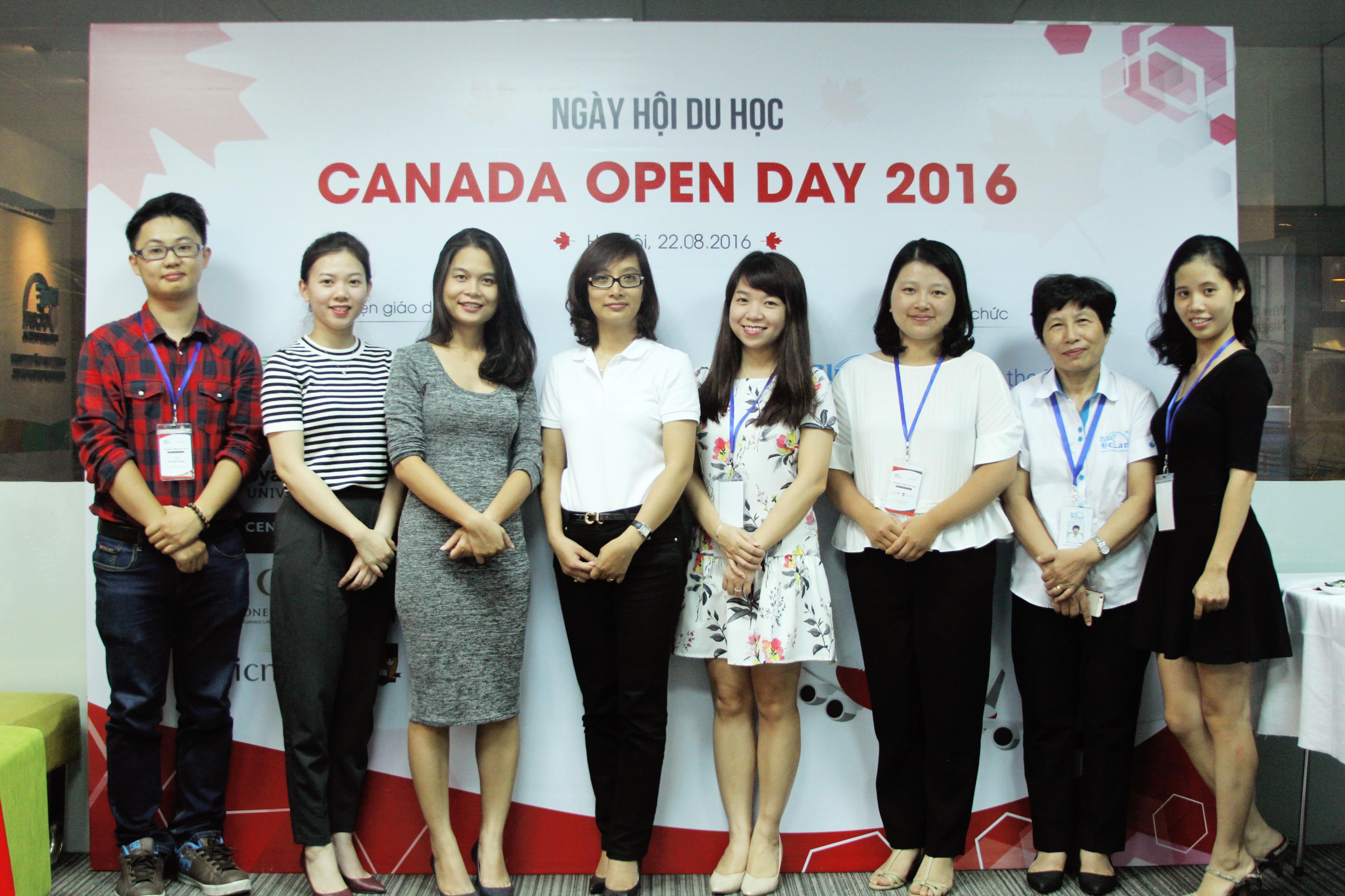 Canada Open Day 2016 - Ngày hội của những đam mê