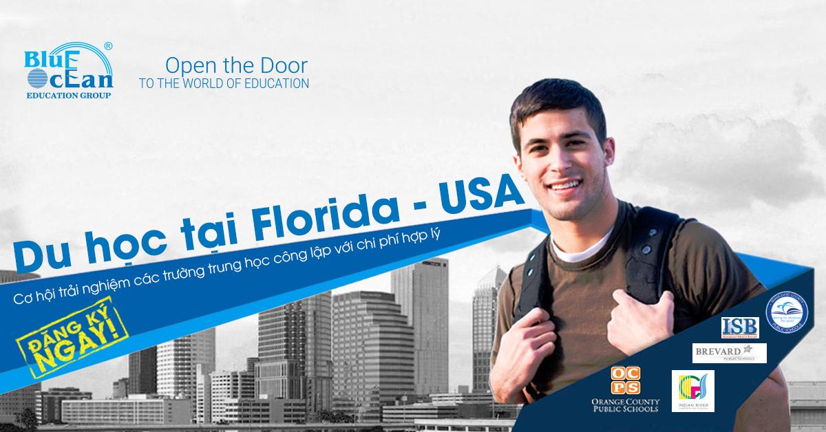 Du học tại Florida- Mỹ: Cơ hội trải nghiệm nền giáo dục công lập với mức chi phí hợp lý