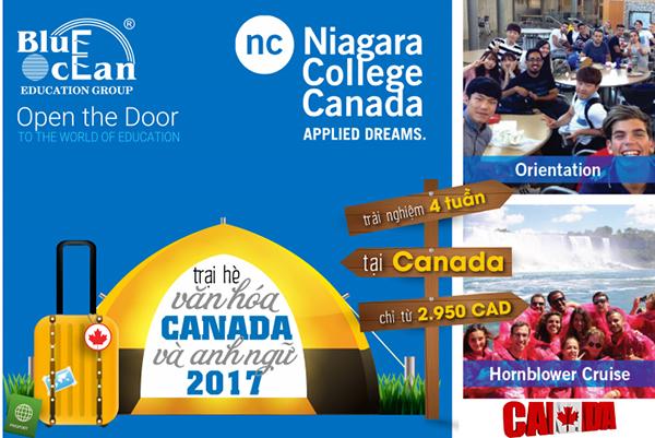 Trại hè giao lưu Văn hóa và Anh ngữ lý thú tại Canada 2017