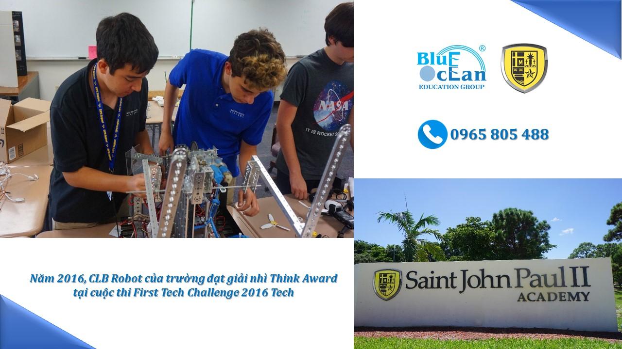 Amerigo Boca Raton – Giới thiệu trường Saint John Paul II Academy