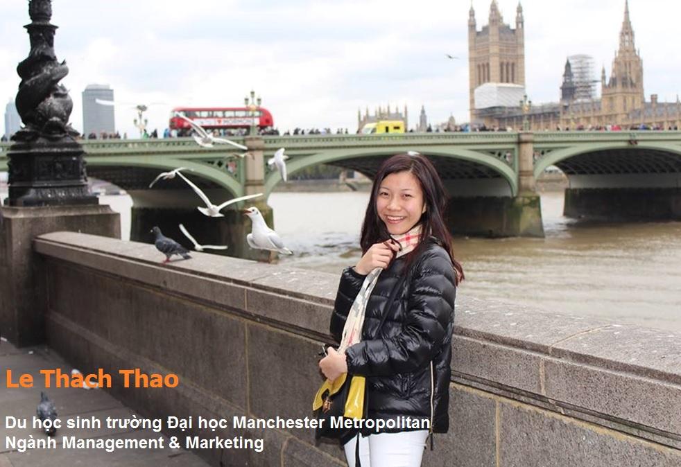 Phỏng vấn Lê Thạch Thảo: Từ Blue Ocean đến Manchester, Anh quốc