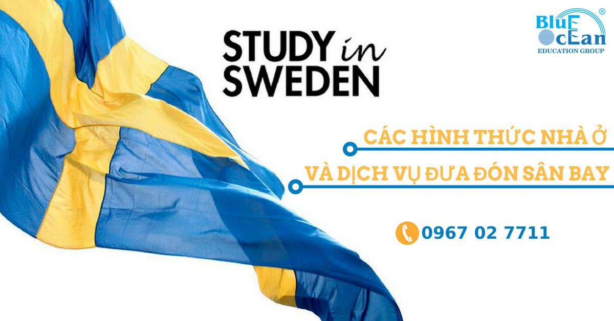 Các loại hình nhà ở và dịch vụ đưa đón tại trường Jonkoping, Thụy Điển