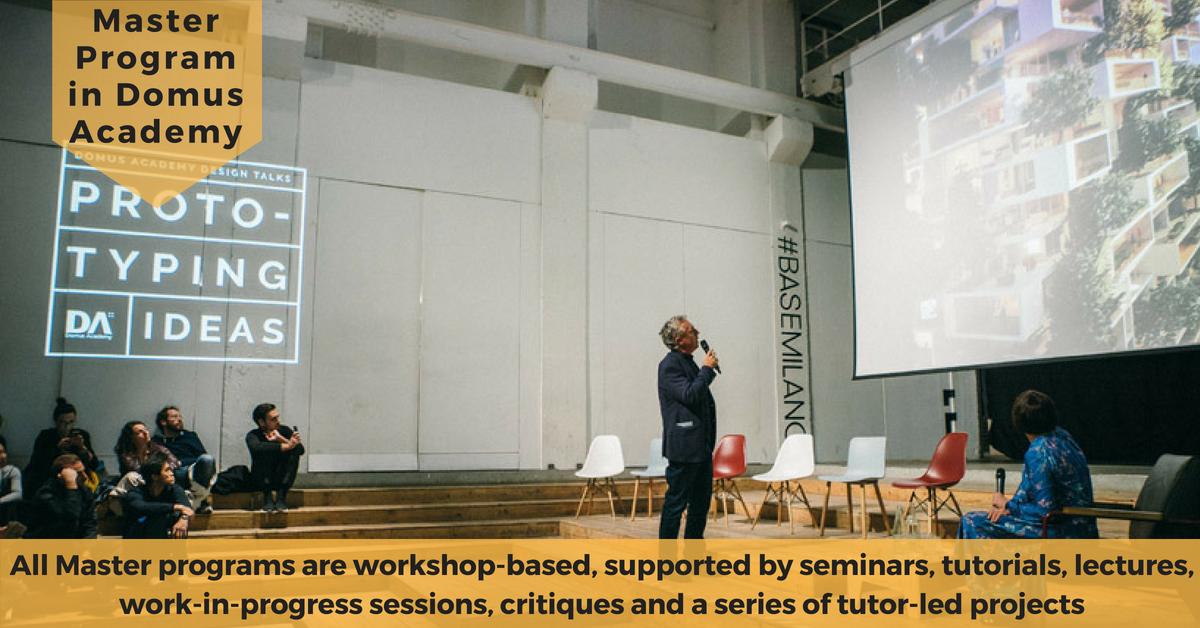 Chương trình Thạc sỹ ngành Thiết kế tại Học viện Domus, Italia