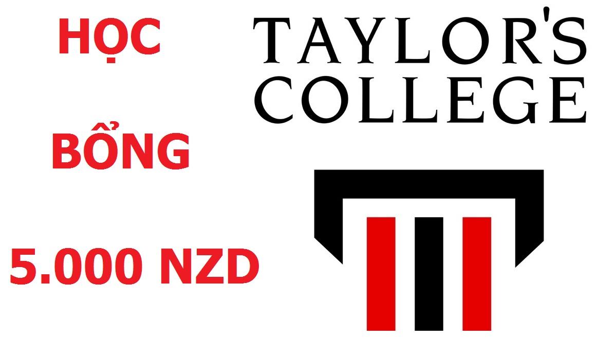 Cơ hội học bổng 5,000 NZD cùng Taylors College New Zealand