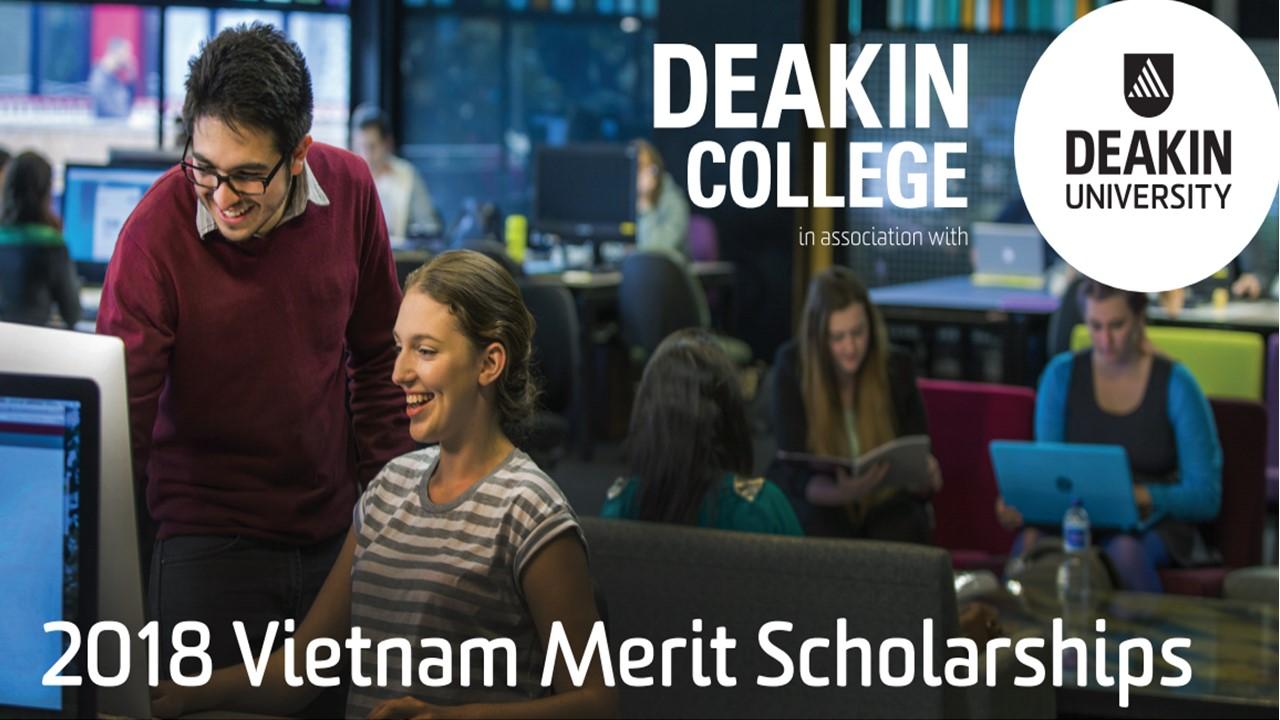 Deakin College dành tặng các suất học bổng dành cho sinh viên có thành tích học tập tốt