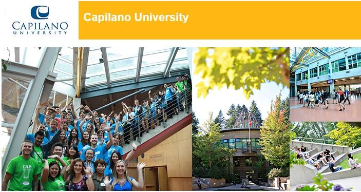 Du học Canada - Trường đại học Capilano