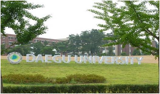 Du học Hàn Quốc - Trường đại học Daegu