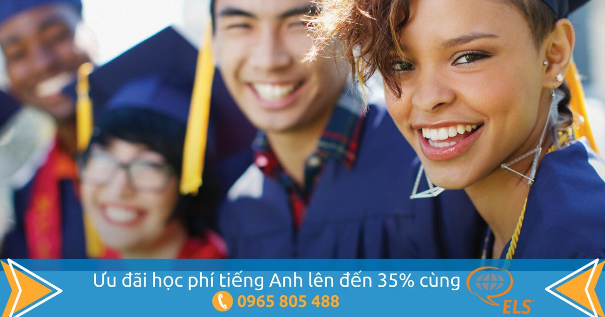 [Du học Mỹ] - Ưu đãi học phí tiếng Anh lên đến 35% cùng ELS
