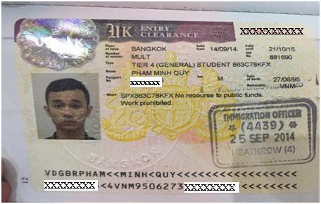 Phạm Minh Quý - Kaplan International College - UK