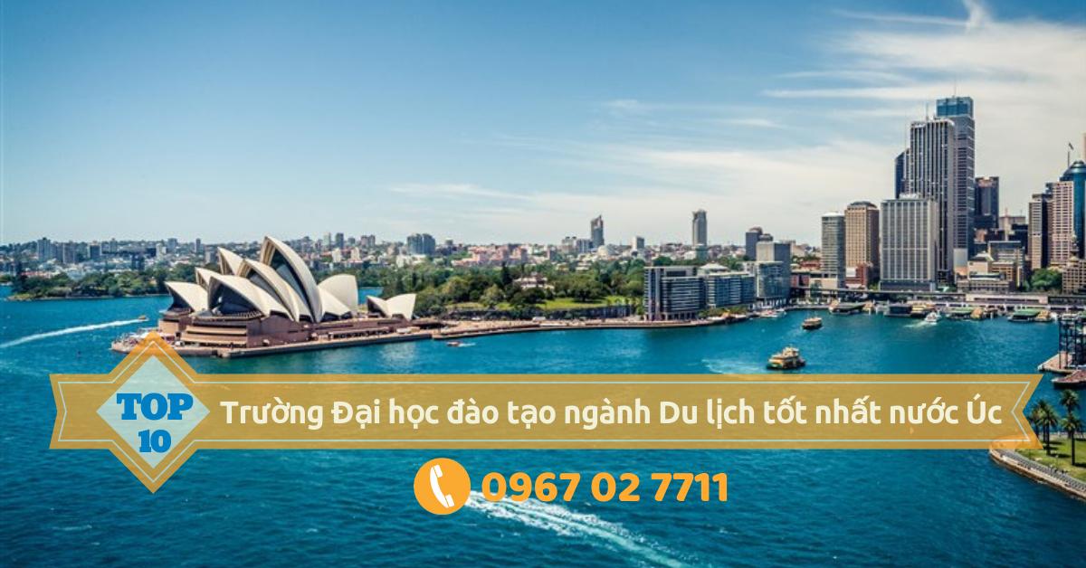 [Du học Úc] - Top 10 trường đào tạo ngành du lịch tốt nhất tại Úc
