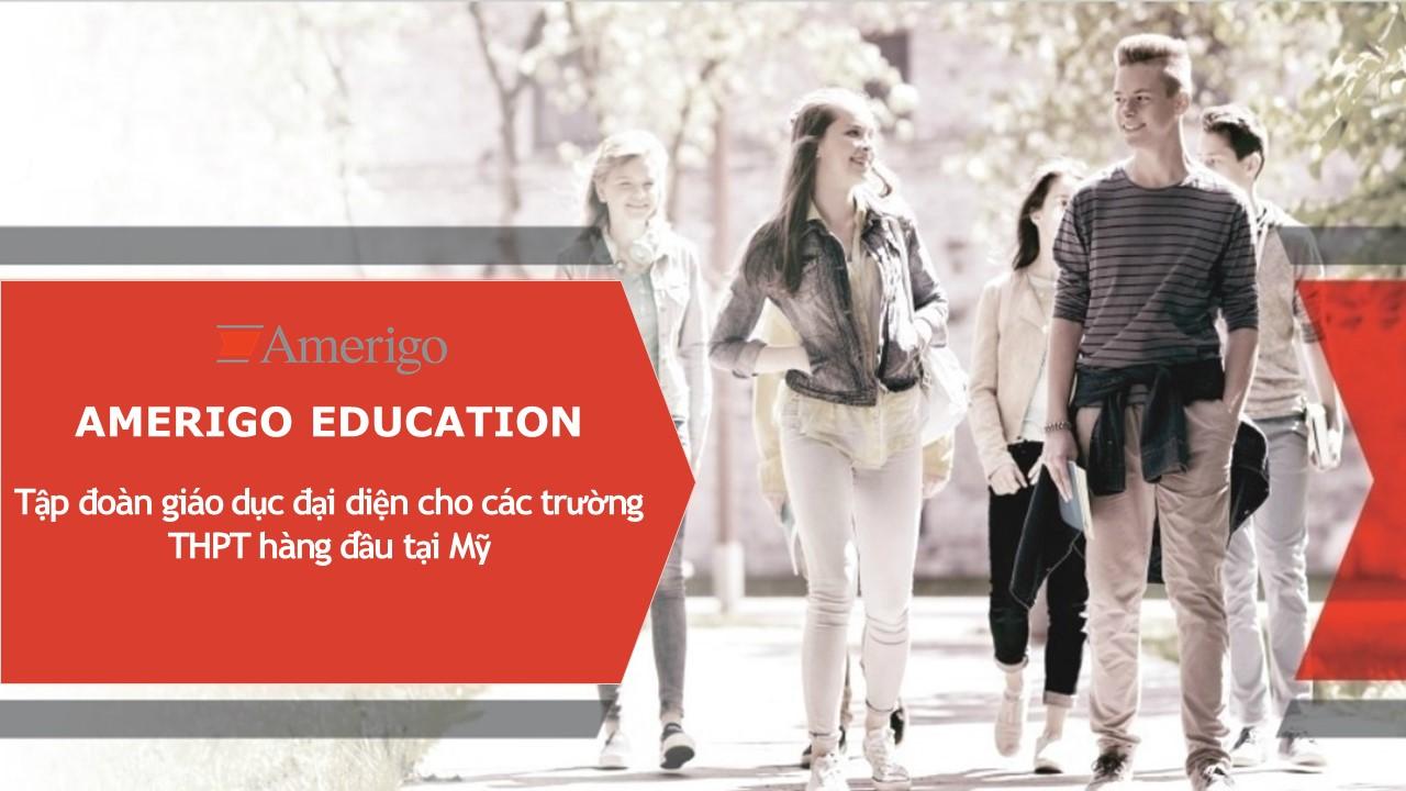 Giới thiệu đôi  nét về tập đoàn giáo dục Amerigo Education, Mỹ