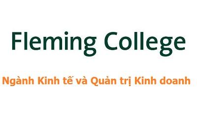 Học Kinh tế và Quản trị Kinh doanh tại Fleming College