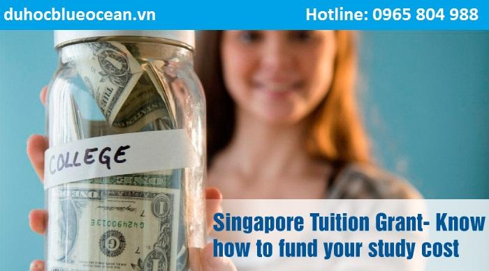 Hỗ trợ chi phí dành cho sinh viên quốc tế - Tuition Grant