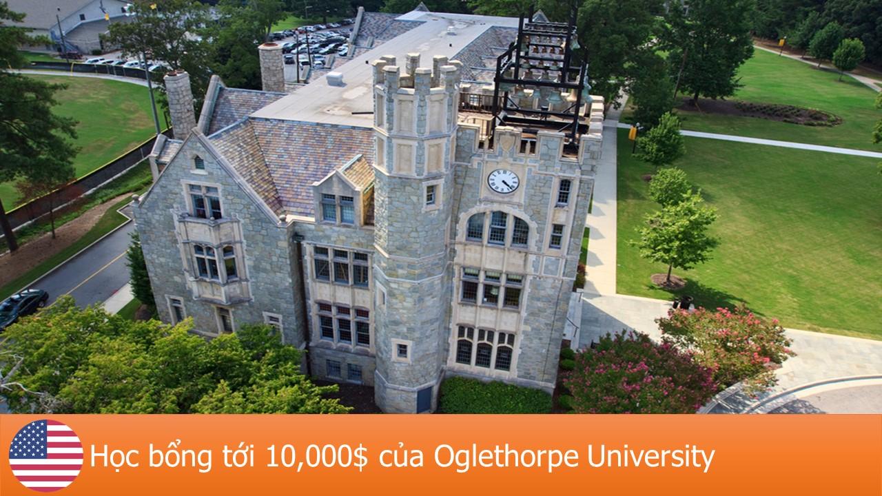 Cơ hội học bổng 10,000$ với ngành kỹ thuật tại đại học Oglethorpe, Mỹ