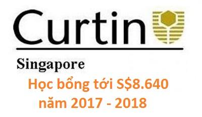 Cơ hội săn học bổng lên tới S$8.640 cùng Curtin Singapore