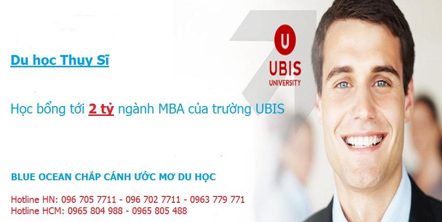 Học bổng tới 2 tỷ ngành Quản trị kinh doanh tại UBIS - Thụy Sĩ