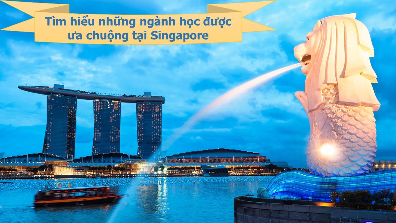 Những ngành học được ưa chuộng nhất tại Singapore