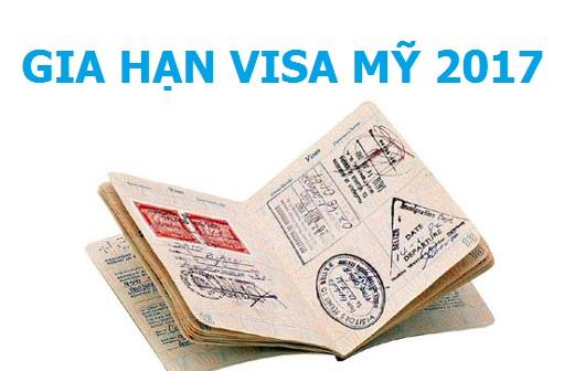 Những thông tin gia hạn Visa Mỹ mới nhất năm 2017 bạn cần biết