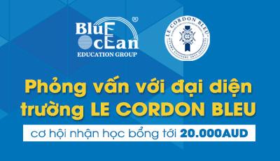Nhận học bổng ngành cử nhân kinh doanh của trường Le Cordon Bleu học tại Paris hoa lệ