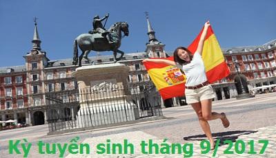 Thông báo tuyển sinh du học Tây Ban Nha kỳ tháng 9/2017