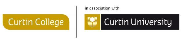 Chương trình hỗ trợ dành cho sinh viên du học Úc tại cao đẳng Curtin