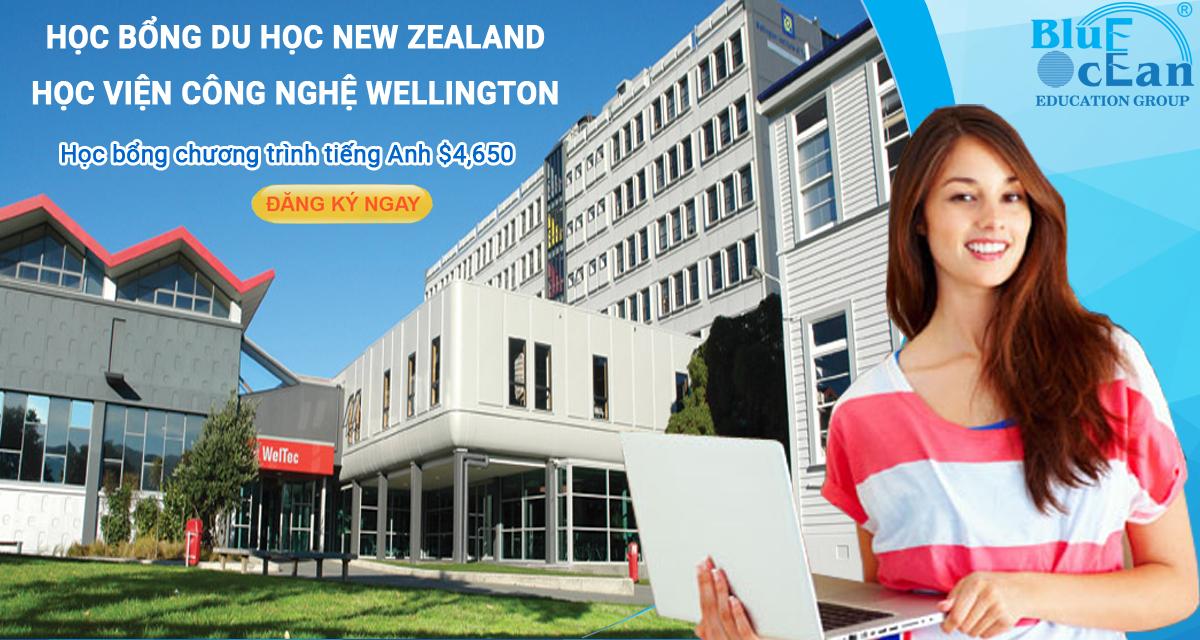 Học bổng du học New Zealand - Trường công nghệ Wellington