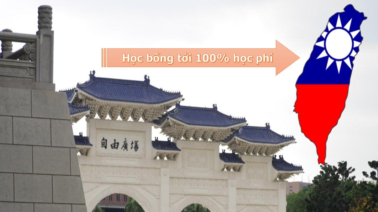 Những chương trình học bổng du học Đài Loan trị giá tới 100% học phí
