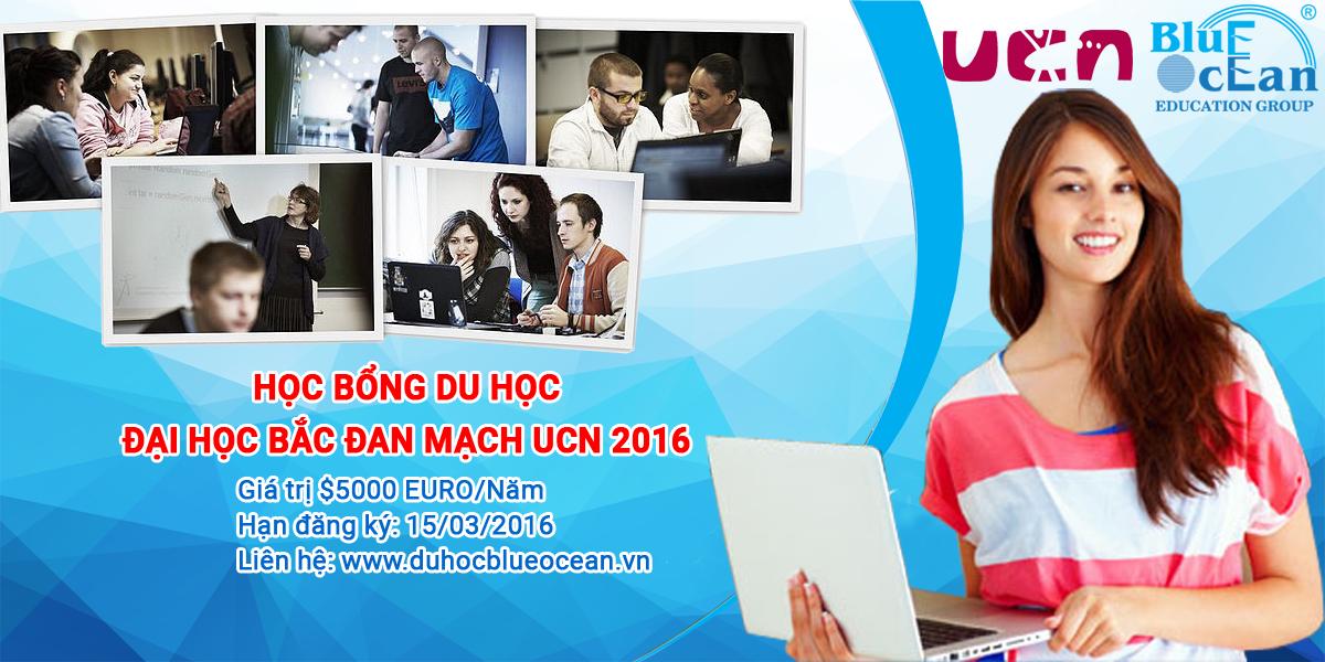 Tuyển sinh học bổng du học trường Đại Học Bắc Đan Mạch UCN 2016