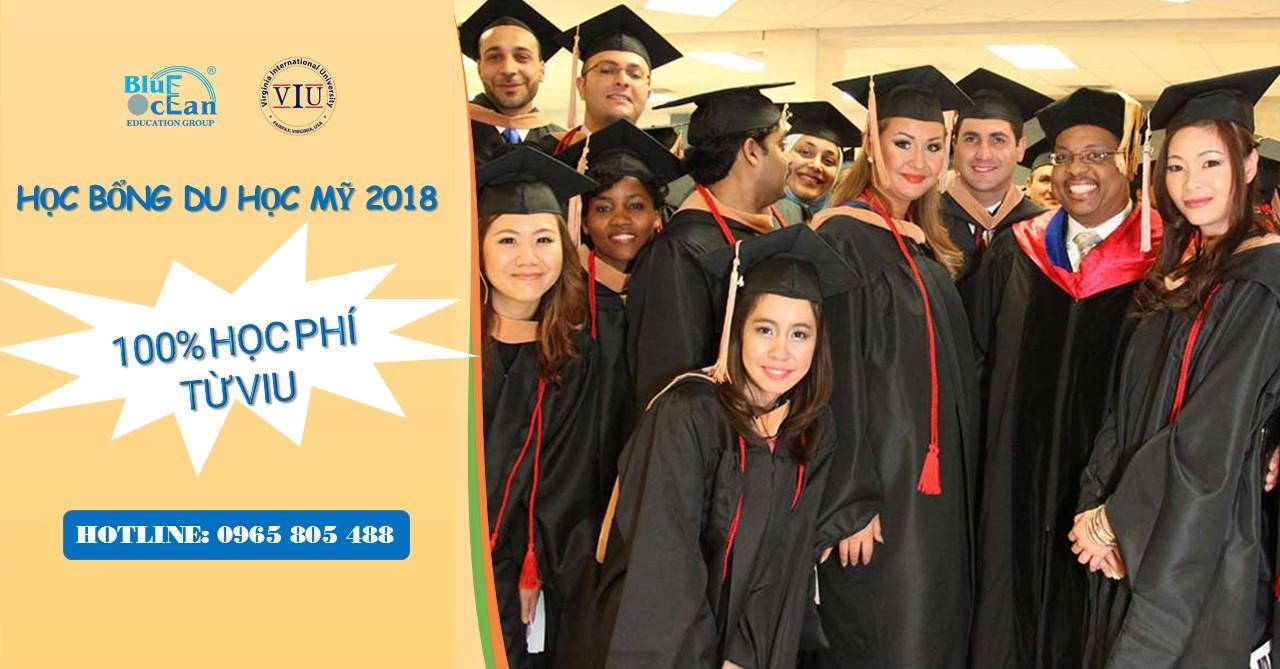 [Học bổng du học Mỹ] - Cơ hội nhận học bổng 100% tại Virginia International Univesity
