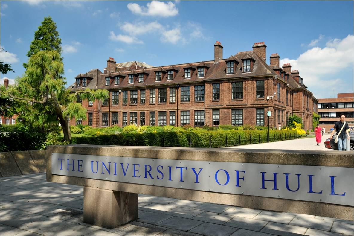Học bổng du học Anh Quốc đến 100% học phí tại đại học Hull