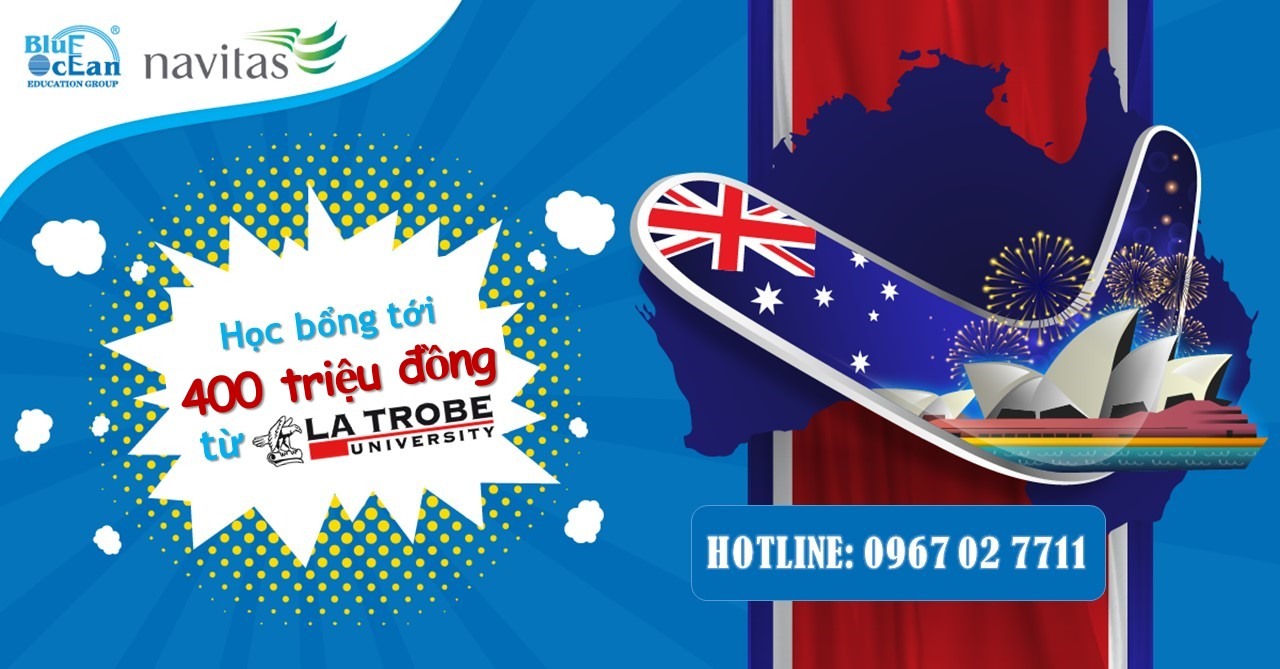 Cơ hội dành học bổng du học Úc lên tới 400 triệu đồng chưa bao giờ dễ dàng đến thế!