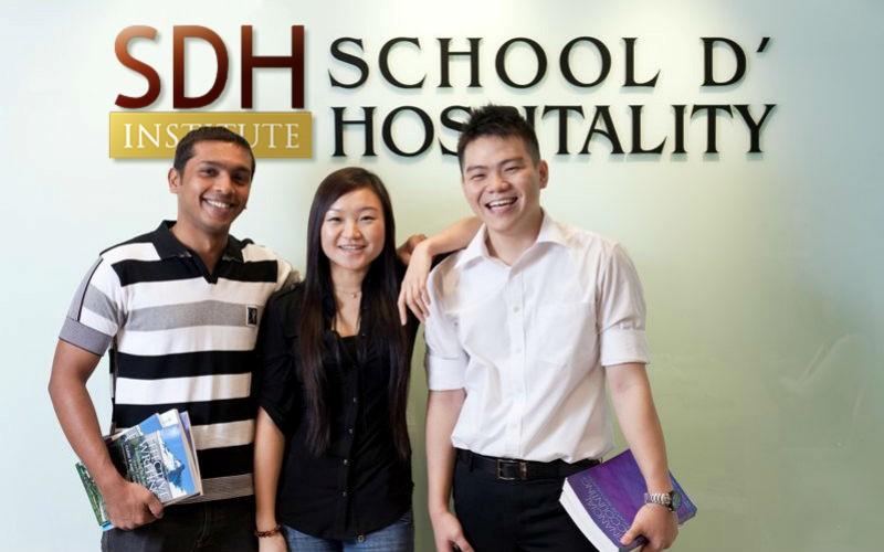 Học tại SDH Singapore - Nhận bằng của trường Pháp