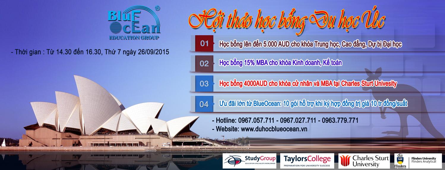 Hội thảo học bổng du học Úc - Đường đến thành công