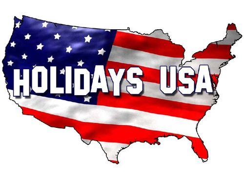 Các ngày nghỉ lễ tại Mỹ trong năm 2017