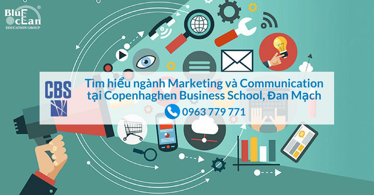 Du học Đan Mạch cùng ngành Marketing và Communication tại Copenhaghen Business School (CBS)