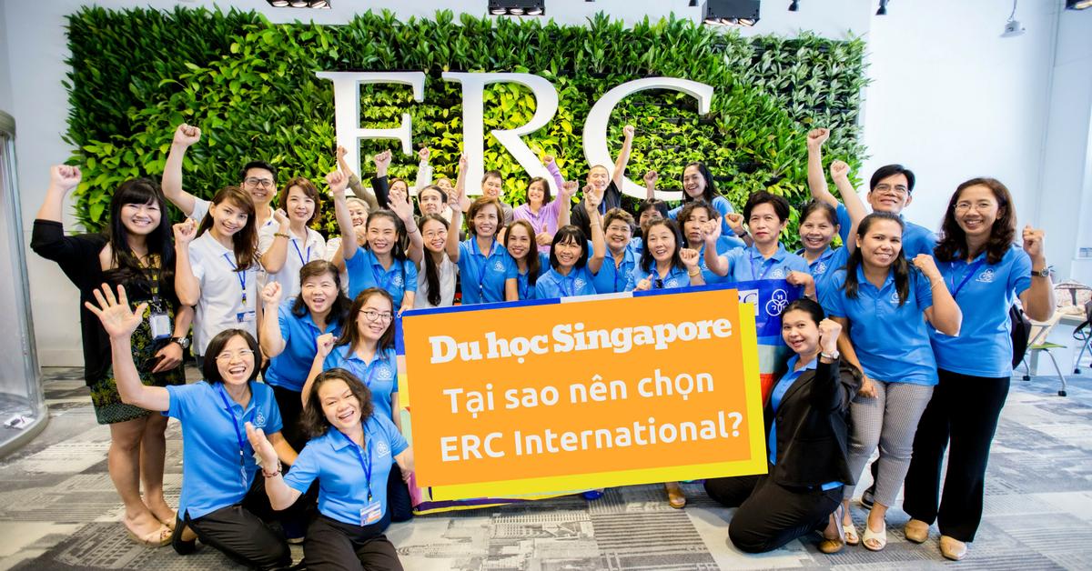 Tại sao nên chọn du học Singapore tại ERC Institute