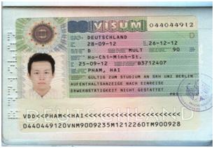 Thủ tục xin cấp thị thực du học Đức