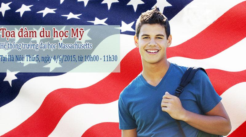 Phỏng vấn học bổng - Toạ đàm du học Mỹ: Hệ thống trường đại học Massachusetts