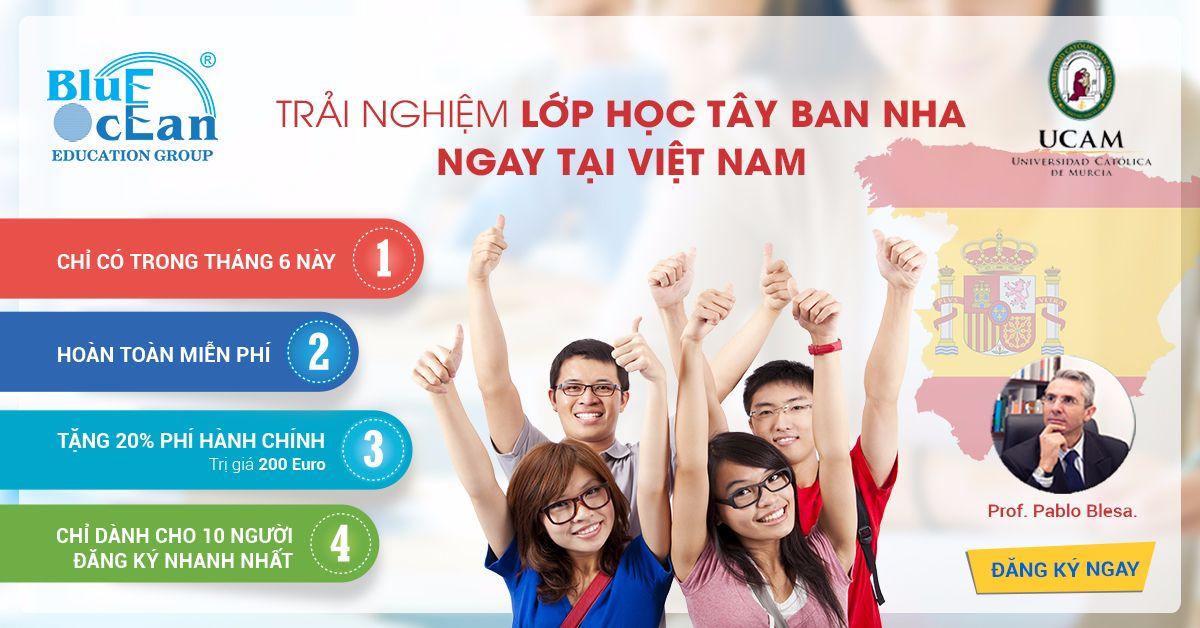 Trải nghiệm lớp học Tây Ban Nha ngay tại Việt Nam