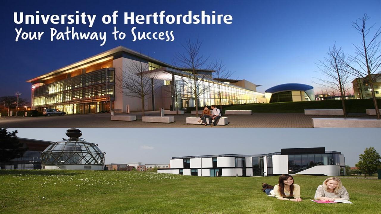 Trường đại học Hertfordshire - trường đại học công lập và quý tộc của Vương quốc Anh (P1)