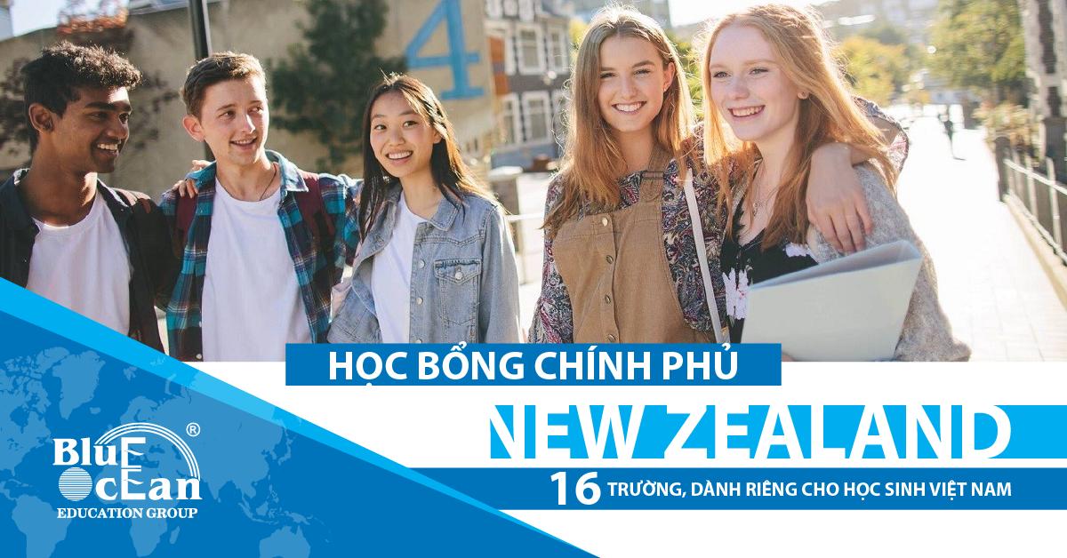 Chương trình Học bổng Chính phủ New Zealand bậc Trung học (NZSS) dành riêng cho học sinh Việt Nam