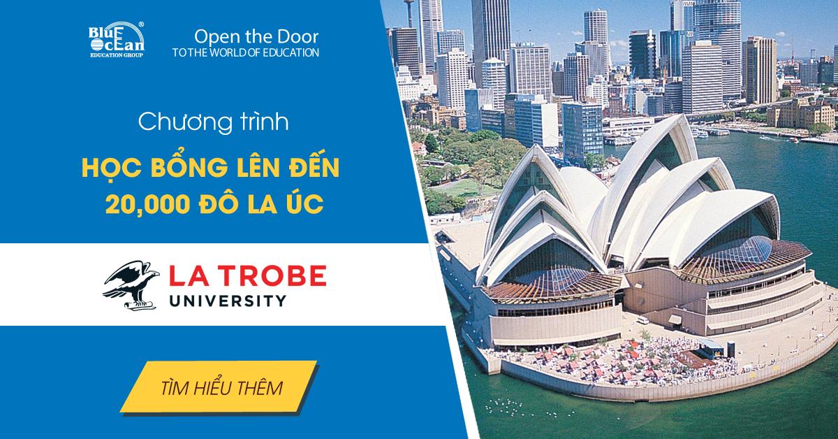 Học bổng du học Úc - Đại học La Trobe