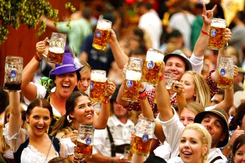 Lễ hội bia ở Đức