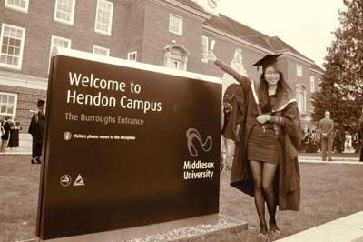 Du học chuyển tiếp lấy bằng Đại học Middlesex - Anh